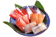 焼津の特産品「切身」